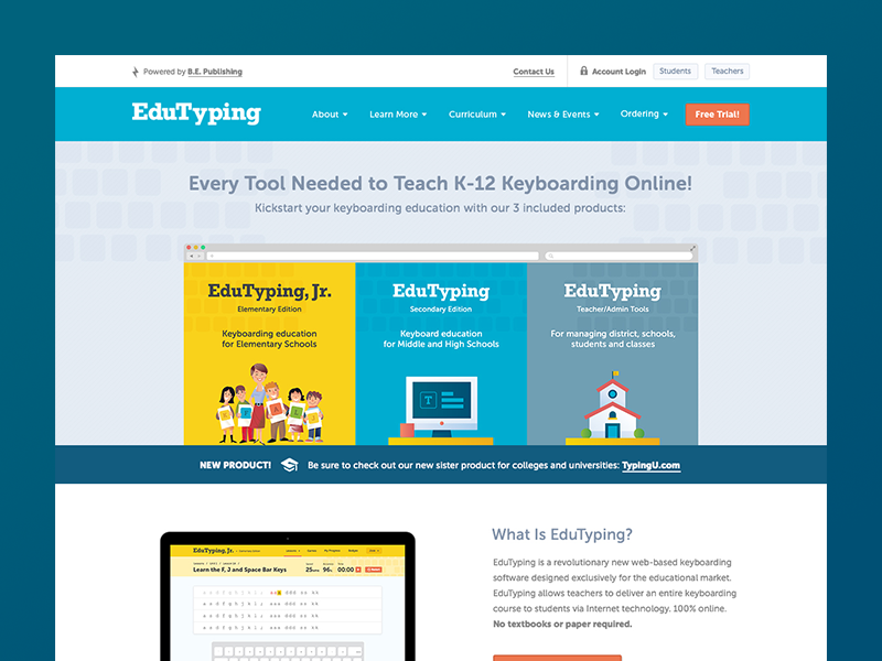 EduTyping Home